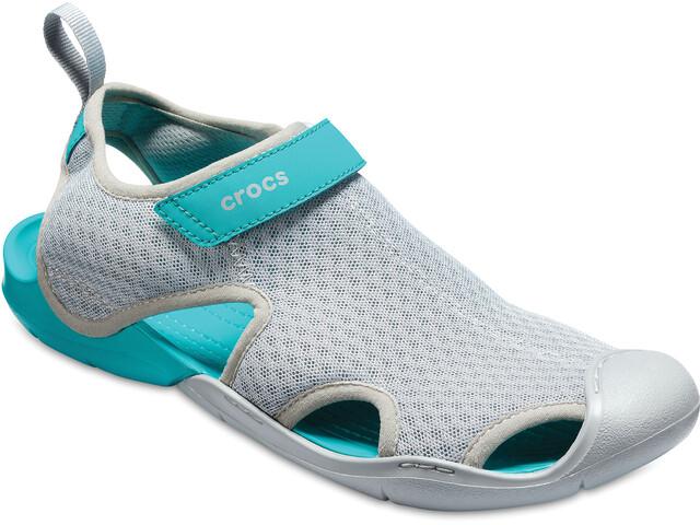 Crocs Swiftwater Mesh Naiset sandaalit , harmaa